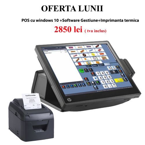 Sistem POS complet FAST-FOOD lite ( refurbished)