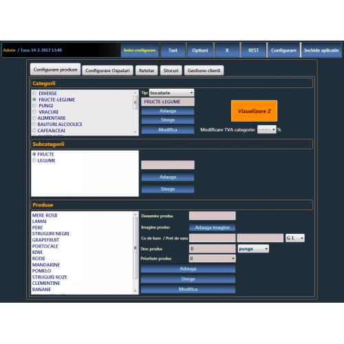 Sistem POS complet MAGAZIN OPTIM ( refurbished)