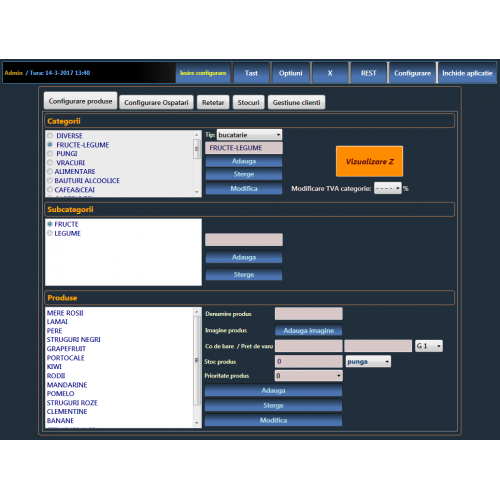 Sistem POS complet MAGAZIN 3 (Nou)